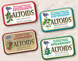 ALTOIDS Vending Business Opportunity
